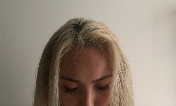 Hair post wash